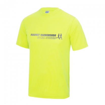 Market Harborough Social Runners Hi-Viz T-Shirt