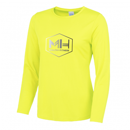MH Health & Fitness Ladies Fit Long Sleeve T-Shirt