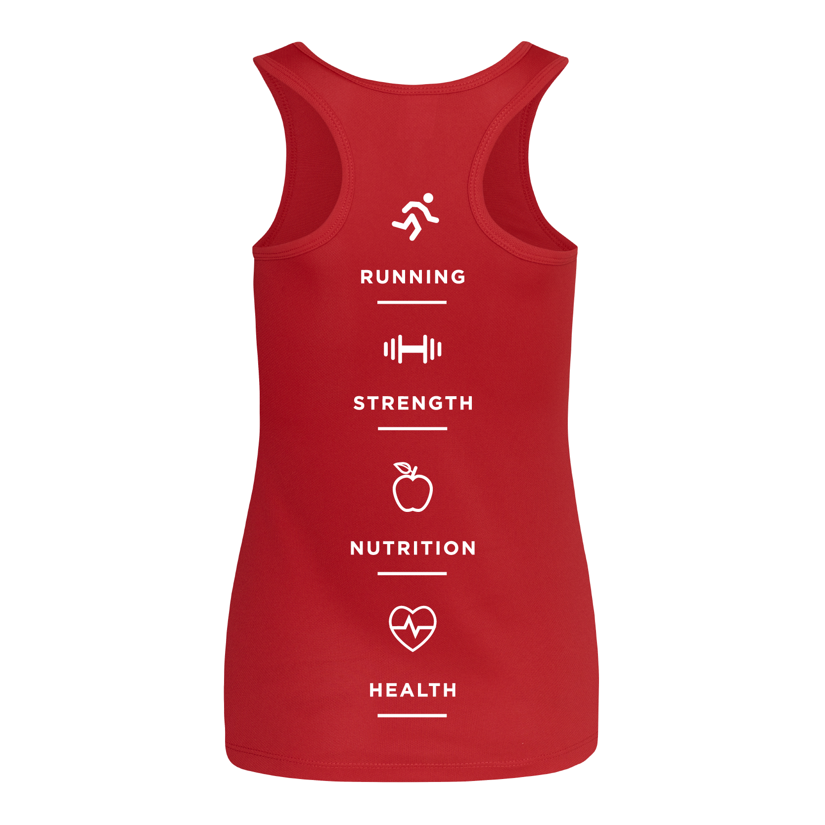 MH Health & Fitness Ladies Fit Vest
