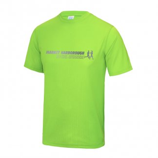 Market Harborough Social Runners Hi-Viz T-Shirt
