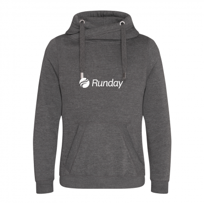 Runday Cross Neck Hoodie