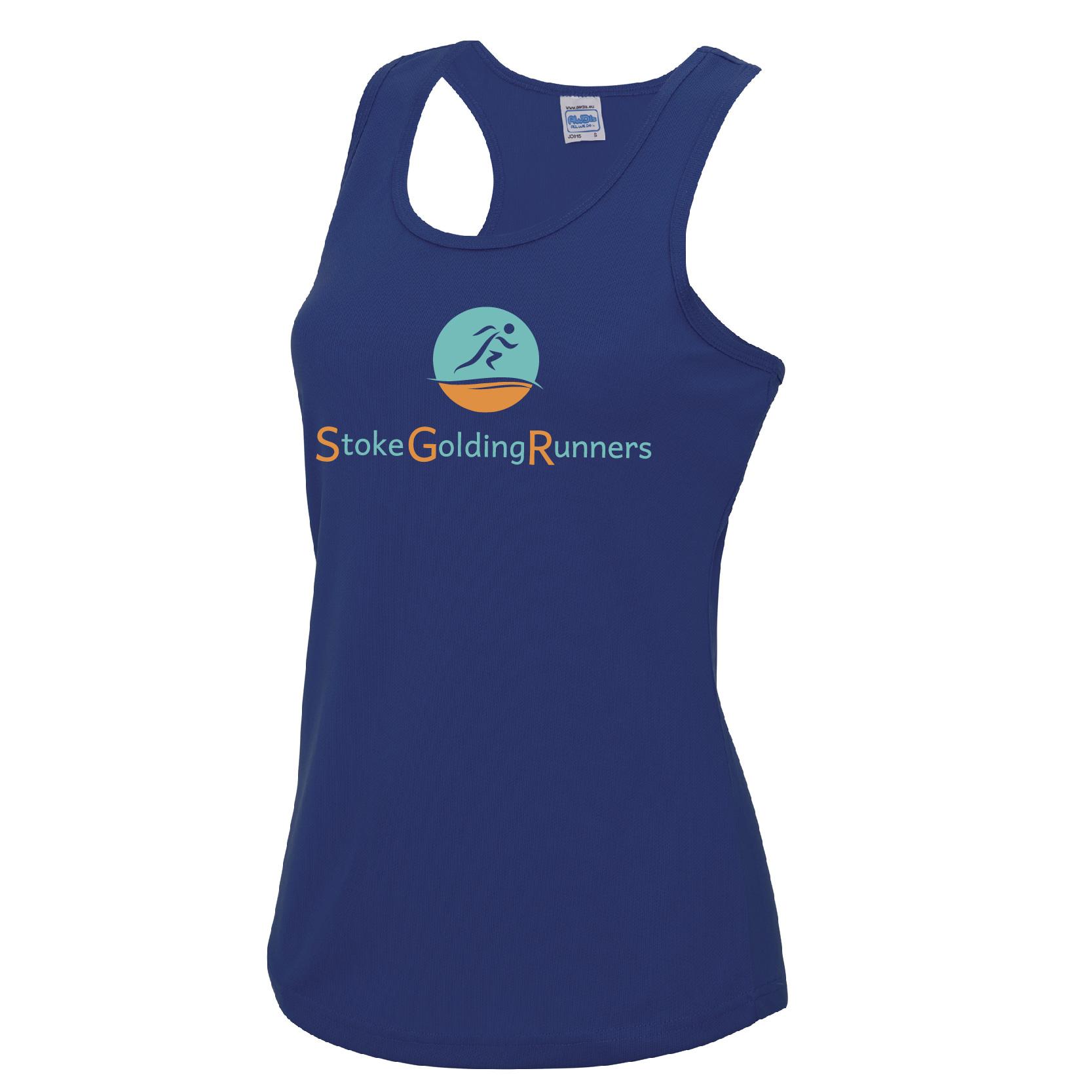 Stoke Golding Runners Club Ladies Fit Vest