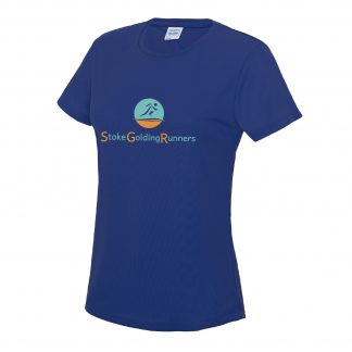 Stoke Golding Runners Club Ladies Fit T-Shirt