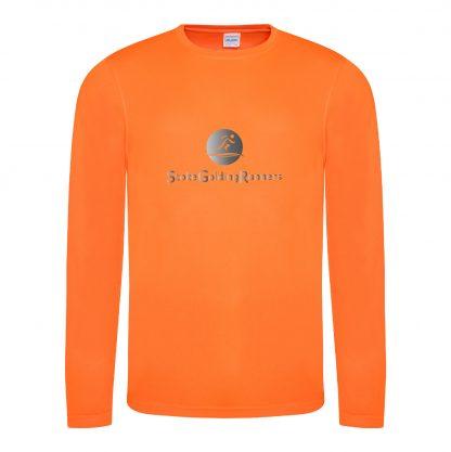 Stoke Golding Runners Hi-Viz Long Sleeve T-Shirt