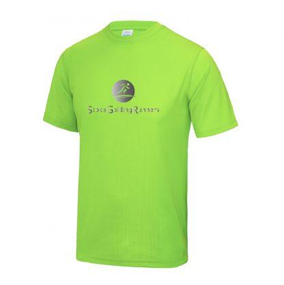 Stoke Golding Runners Hi-Viz T-Shirt