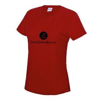 Stoke Golding Runners Training Ladies Fit T-Shirt