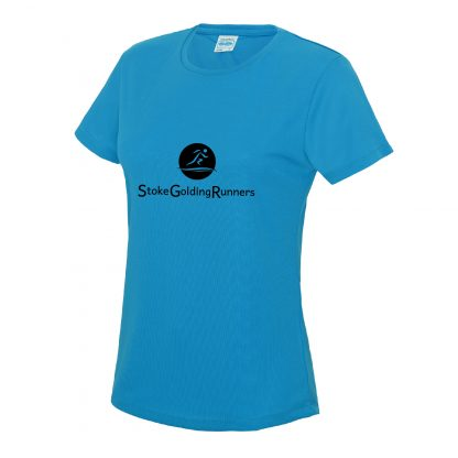 Stoke Golding Runners Training Ladies Fit T-Shirt