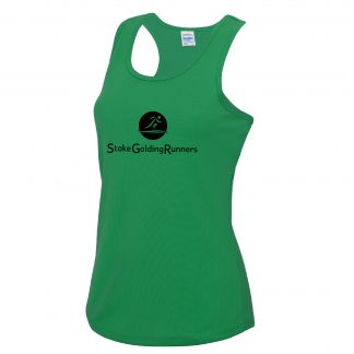 Stoke Golding Runners Training Ladies Fit Vest